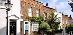 london terraced house